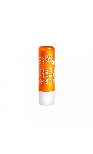 Baume à lèvres bio Orange - Benecos - 4,8 gr.