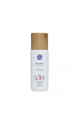 Champú y gel de baño ecológico refrescante bebé ( Baby Refreshing Shampoo & Bath Gel) - NAOBAY - 200 ml.
