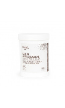 Arcilla blanca natural en polvo - Piel seca y sensible - Najel - 500 g.