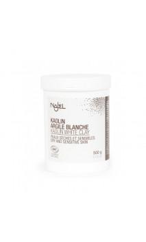 Argile blanche naturelle en poudre- Peau sèche et sensible - Najel - 500 g.