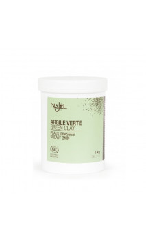 Argile verte naturelle en poudre - Peau grasse - Najel - 1 kg