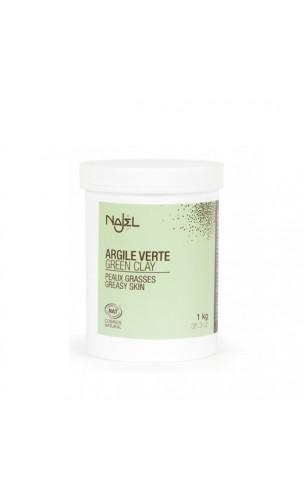 Argile verte naturelle en poudre- Najel - 150 g.