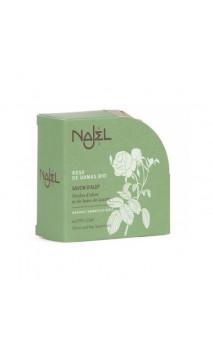 Jabón de Alepo natural con rosa Damascena - Najel - 100 g.