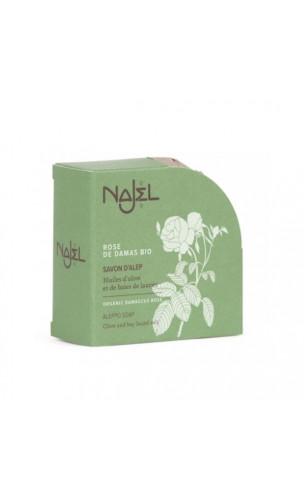 Savon d'Alep naturel à la violette - Savon apaisant- Najel - 100 g.
