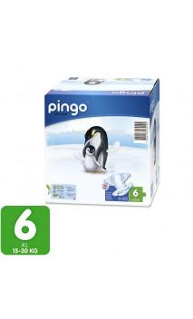 Pañales ecológicos Talla 6 XL 15-30 Kg- 64 unidades -2 pack x 32 ud. - PINGO