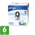 Couches écologiques Taille 6 XL 15-30 Kg- 64 unités -2 pack x 32 u. - PINGO