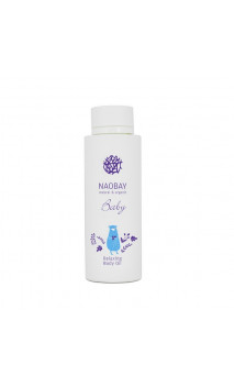Huile de massage BIO relaxante bébé (BABY Relaxing Body Oil) - NAOBAY - 150 ml.