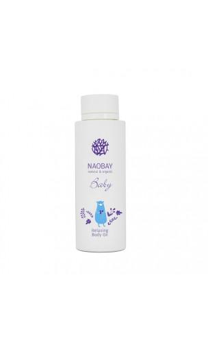 Aceite de masaje ecológico relajante bebé (BABY Relaxing Body Oil) - NAOBAY - 150 ml.