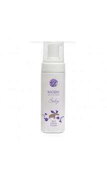 Shampooing bio moussant pour le bain de bébé (BABY Bath Bubble Foamer) - NAOBAY - 150 ml.