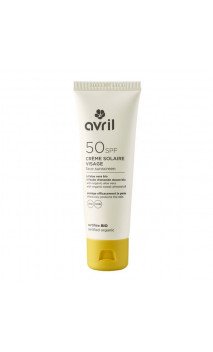 Protector solar facial ecológico SPF 50 - Avril - 50 ml.