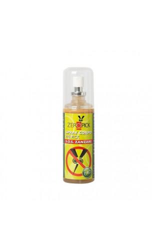 Spray corporel bio Anti-moustique - Sans alcool - Zeropick - 100 ml.