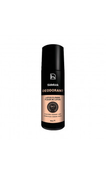 Desodorante ecológico Flor de Loto Roll-on - Sidekick de HOMO NATURALS - 90 ml.