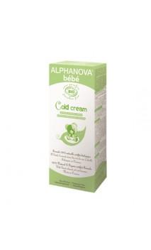 Crema calmante ecológica para bebé Cold Cream - Alphanova Bebé - 50 ml.