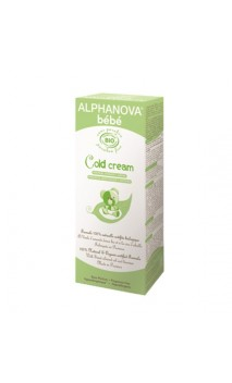 Crème calmante bio pour bébé Cold Cream - Alphanova Bébé - 50 ml.