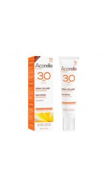 Spray Protecteur solaire bio SPF 30 - Acorelle - 100 ml.