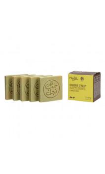 Savon d'Alep naturel miniature pour invités - Najel - 5 x 20 g.