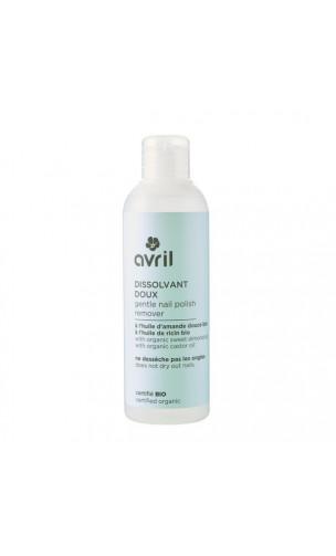 Quitaesmalte de uñas ecológico Delicado - Avril - 200 ml.