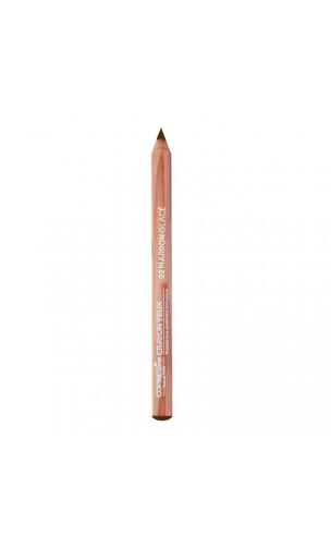 Crayon pour les yeux bio 02 Marron Glacé - COPINESline - 1,04 g.