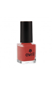 Vernis à ongles naturel Rouge rétro nº 732 - Avril - 7 ml.
