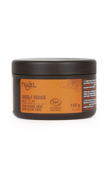 Arcilla roja natural en polvo - Najel - 150 g.