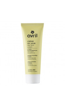 Crema de día ecológica para piel normal & mixta Macadamia - Avril - 50 ml.