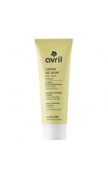 Crème de jour bio pour peau normale & mixte Macadamia - Avril - 50 ml.