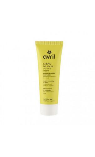 Crème de jour bio pour peau sèche & sensible Abricot - Avril - 50 ml.