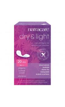 Compresa para la incontinencia con Algodón bio - Dry & Light - Natracare - 20 Ud.