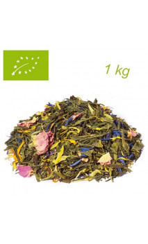 Thé vert/blanc Morning Melody (Bergamote) PACK 1kg  - Elements - Thé bio en vrac - Alveus