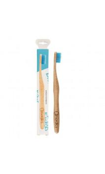 Brosse à dents en Bambou pour adultes Bleu - Nordics