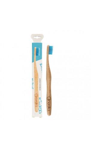 Cepillo de dientes de Bambú para adultos Azul - Nordics