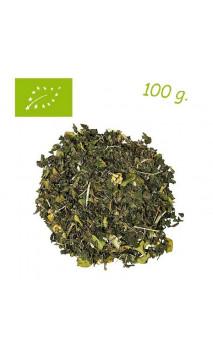 Thé vert Night (Saveur Coco-Citron vert) - Greentox - Thé bio en vrac - Alveus- 100 g.