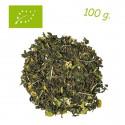 Té verde Night (Sabor Coco-Lima) - Greentox - Té ecológico a granel - Alveus - 100 g.