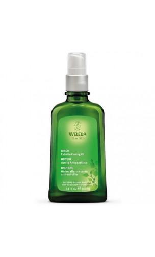 Huile de massage bio Minceur anticellulite - Weleda - 100 ml.