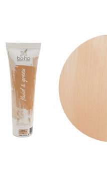 Base de maquillaje fluida ecológica 01 Beige Diaphane - BoHo Green Cosmetics - 30 ml.