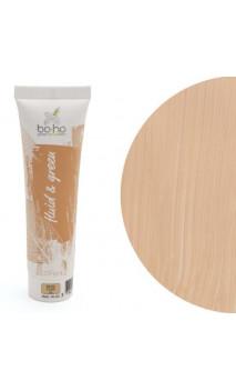 Fond de teint fluide bio 02 Beige Clair - BoHo Green Cosmetics - 30 ml.