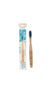 Cepillo de dientes de Bambú para niños Azul - Nordics