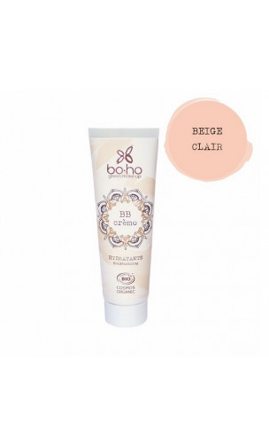 BB Cream bio Hydratante - Beige Clair 02 - BoHo Green Cosmetics - 30 ml.