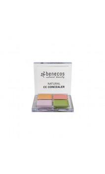 Correcteur de teint bio CC - Benecos - 6 g.