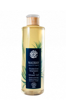 Gel douche et shampooing bio protecteur (Protective Shampoo & Shower gel) - NAOBAY - 400 ml.