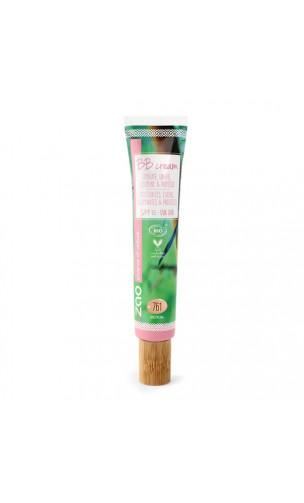 BB Cream ecológica FPS 15 - Médium761 - ZAO Make Up - 30 ml.