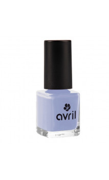 Vernis à ongles naturel Bleu Layette nº 630 - Avril - 7 ml.