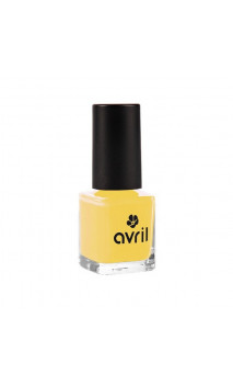 Vernis à ongles naturel Jaune Curry nº 680 - Avril - 7 ml.