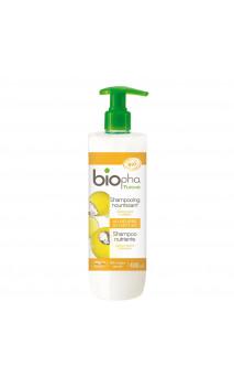 Shampooing bio Nourrissant Réparateur - Cheveux secs & abîmés - Beurre de karité - Biopha Nature - 400 ml.