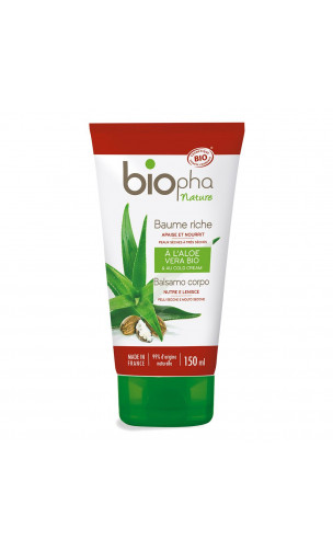 "Baume corporel BIO Riche - ""Cold cream"" - Biopha Nature - 150 ml."