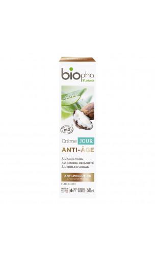 Crème de jour BIO ANTI-ÂGE - Biopha Nature - 50 ml.