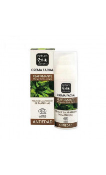 Crema facial bio Reafirmante - Margarita bio & Algas - NaturaBIO Cosmetics  - 50 ml.