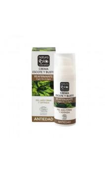Crema escote y busto bio Reafirmante - Argán bio & Algas - NaturaBIO Cosmetics- 50 ml.