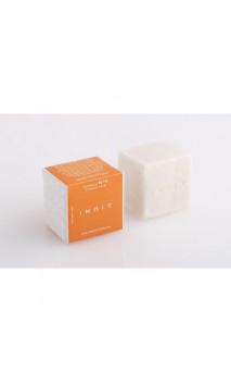 Shampooing solide bio Fortifiant Anti-chute Nº 4 – Ricin & Kératine – Inuit – 90 g.