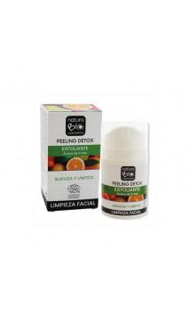 Peeling facial ecológico DETOX - Ácidos de frutas - NaturaBIO Cosmetics - 50 ml.